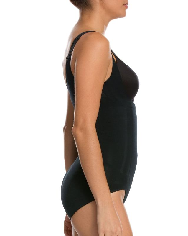 spanx oncore bodysuit 10129r black side