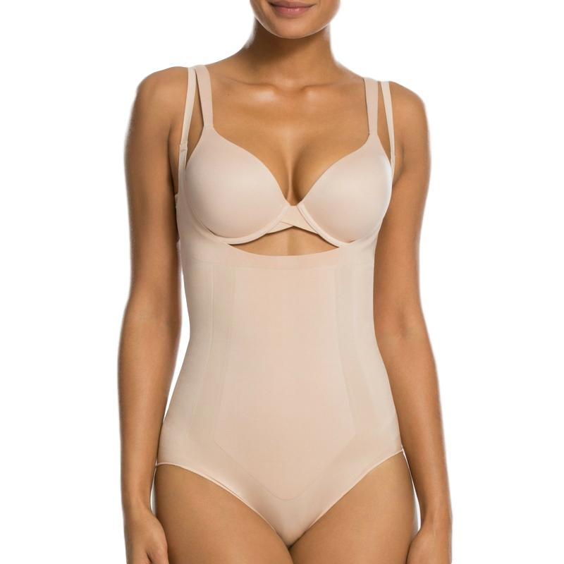spanx oncore bodysuit 10129r nude front