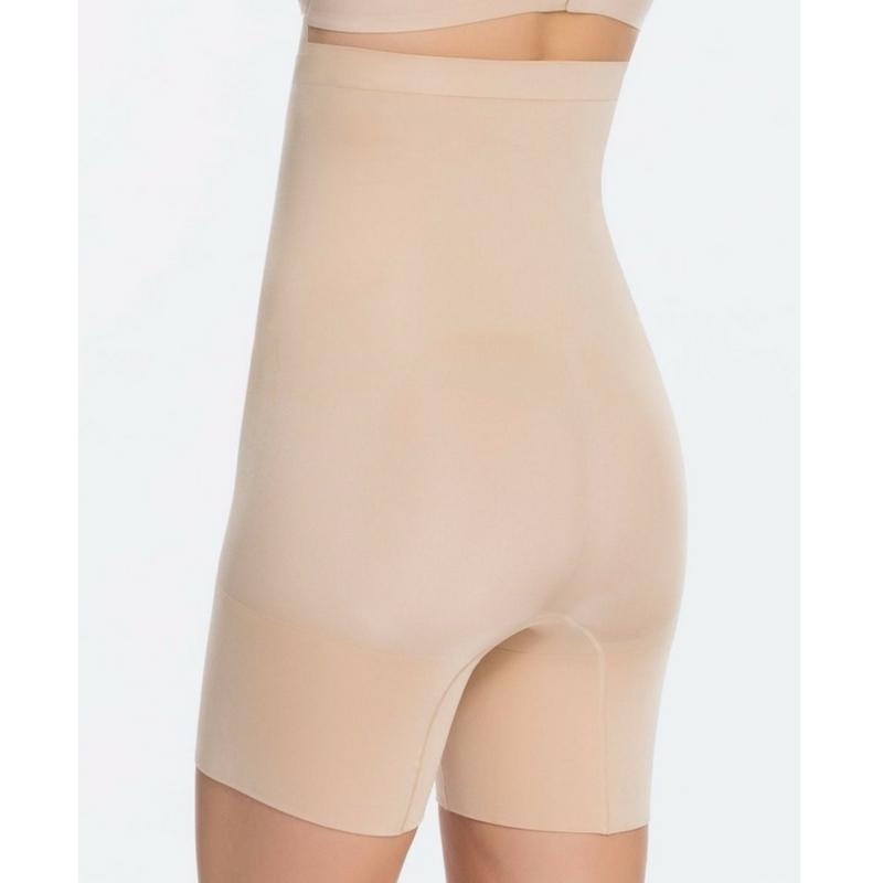 Spanx Oncore High Waisted Mid Thigh Shaper Shorts SS1915 Natural Back