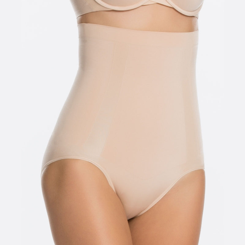 spanx oncore control briefs nude front