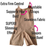 Spanx OnCore Extra Firm Control Shapesuit - Spanx All In One Slimming Bodysuit SS1715 Front View