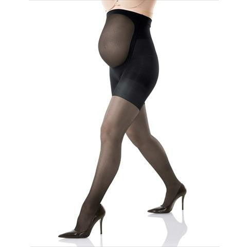 Mama Spanx Maternity Full Length Pantyhose In Black
