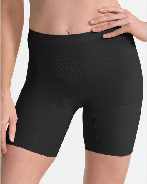 Spanx Power Shaper Short - Spanx Power Panties - SPX 2744 Black Front View