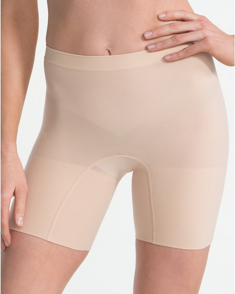 Spanx Power Shaper Short - Spanx Power Panties - SPX 2744 Nude Front View