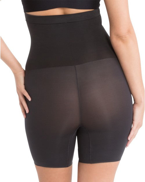 Spanx Shape My Day Mid Thigh High Waist Shaping Shorts - SS5715 Black Back View
