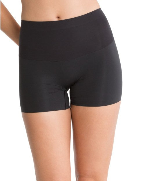 Spanx Shape My Day Slimming Girl Shorts - SS7215 Black Front View