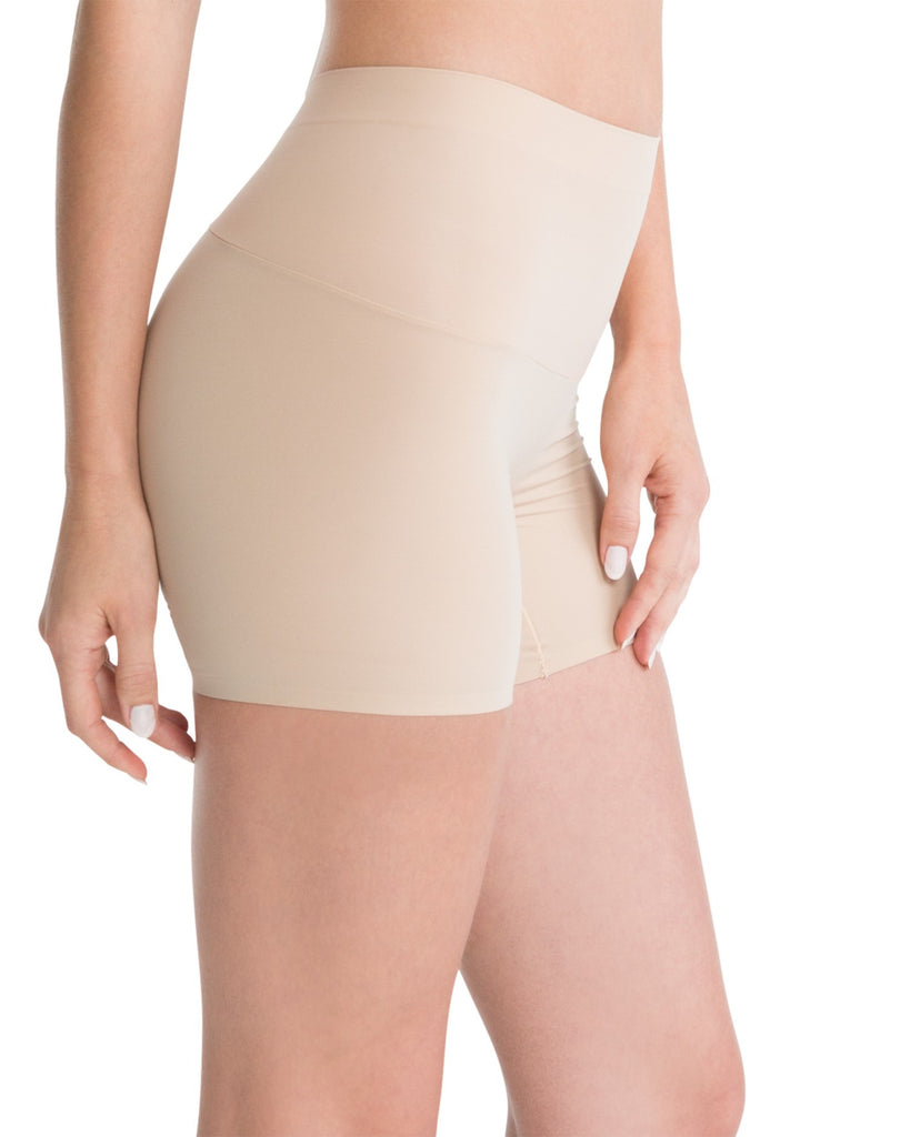 Spanx Shape My Day Slimming Girl Shorts - SS7215 Nude Side View