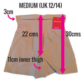Spanx Shape My Day Slimming Girl Shorts SS7215 Measurements