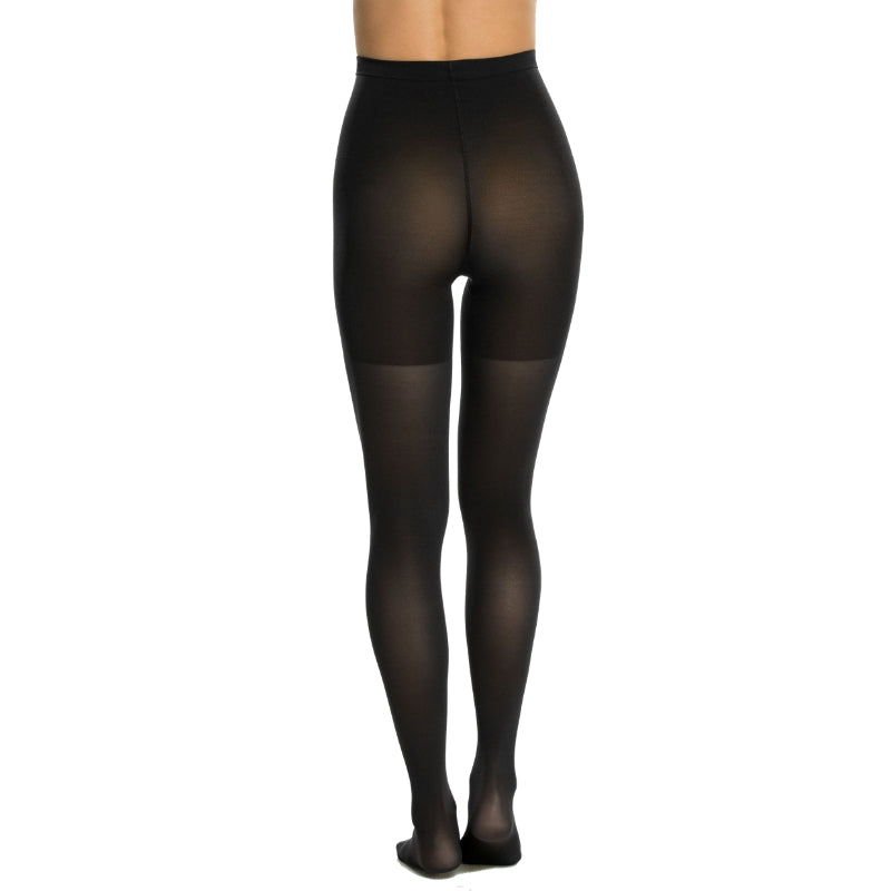 Spanx Shaping Tights Black Back View