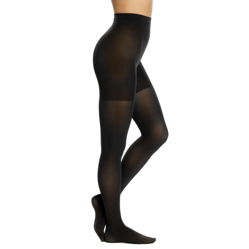 Spanx Shaping Tights Black Side View