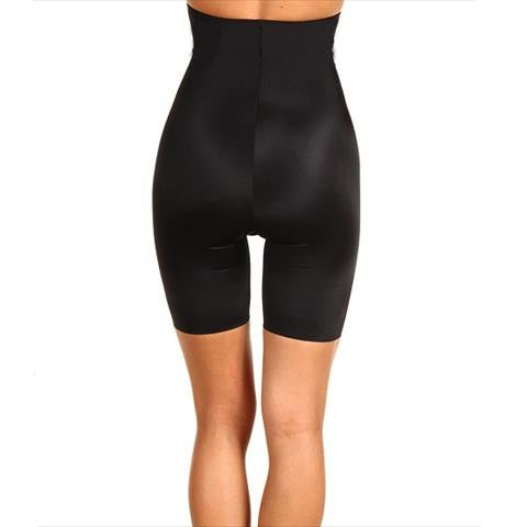 Spanx Slimplicity High Waist Body Shaper In Black Back View
