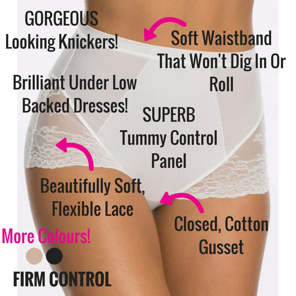 spanx spotlight on lace firm control briefs