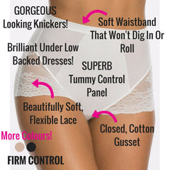 Spanx Spotlight On Lace Firm Control Briefs - Best Shapewear For Tummy Control