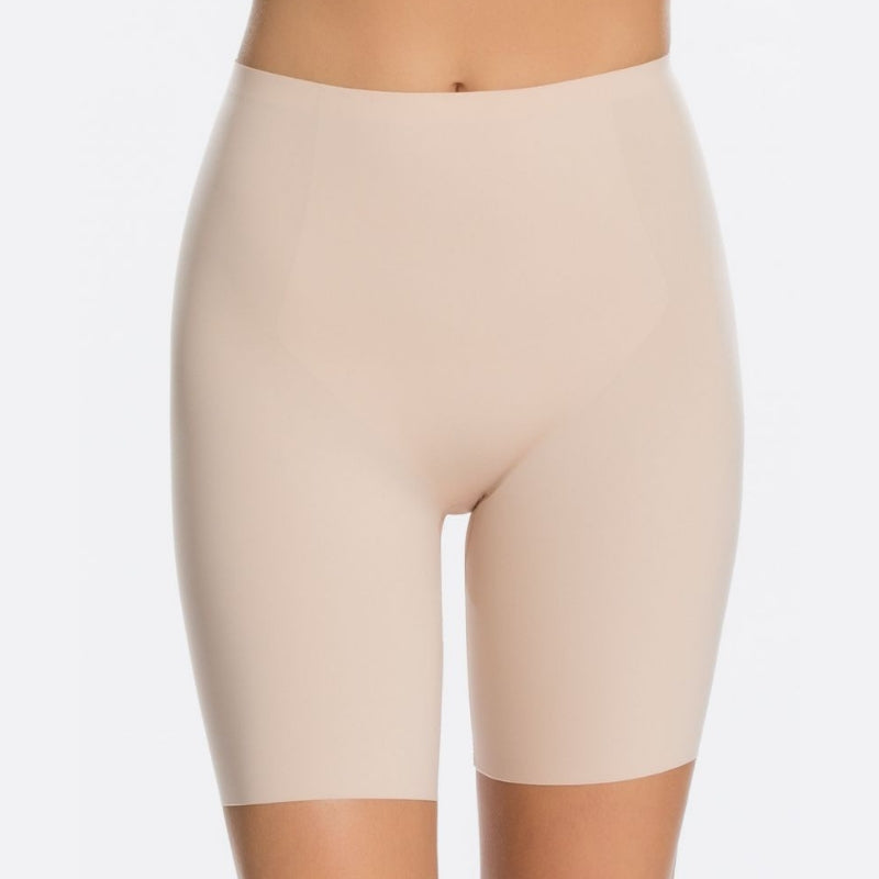 Spanx Thinstincts Body Shaper Shorts Nude Front View