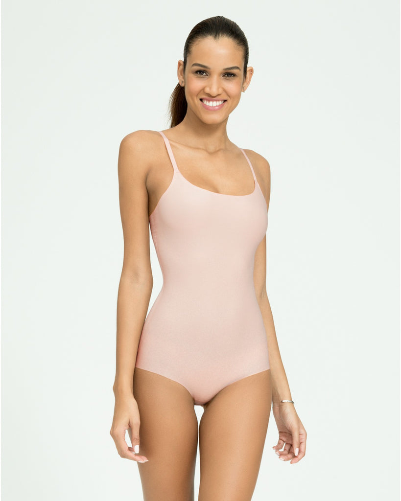 Spanx Thinstincts Women's Slimming Bodysuit Nude