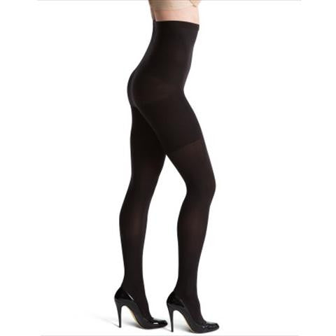 Spanx Tight End High Waisted Tights Black Side View