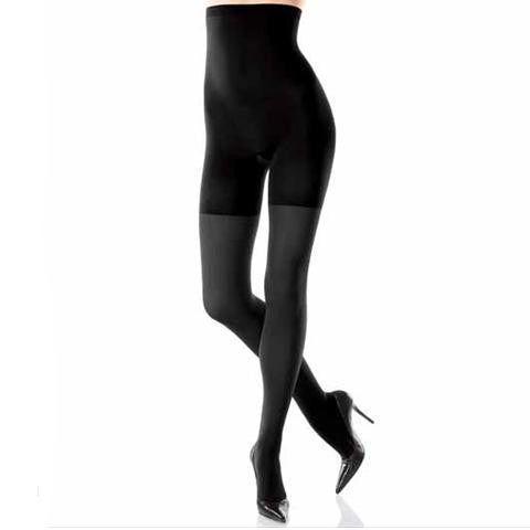 Spanx Tight End High Waisted Tights Black Front