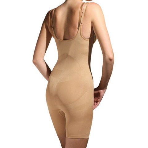 Trinny and Susannah All In One Body Shaper Natural Back View