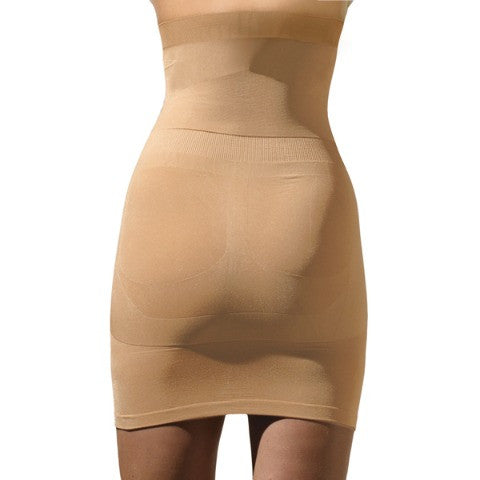 Trinny and Susannah Magic Body Smoother Skirt Natural Back View