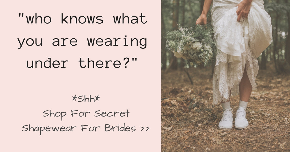 Hold It All In With Wedding Bridal Shapewear