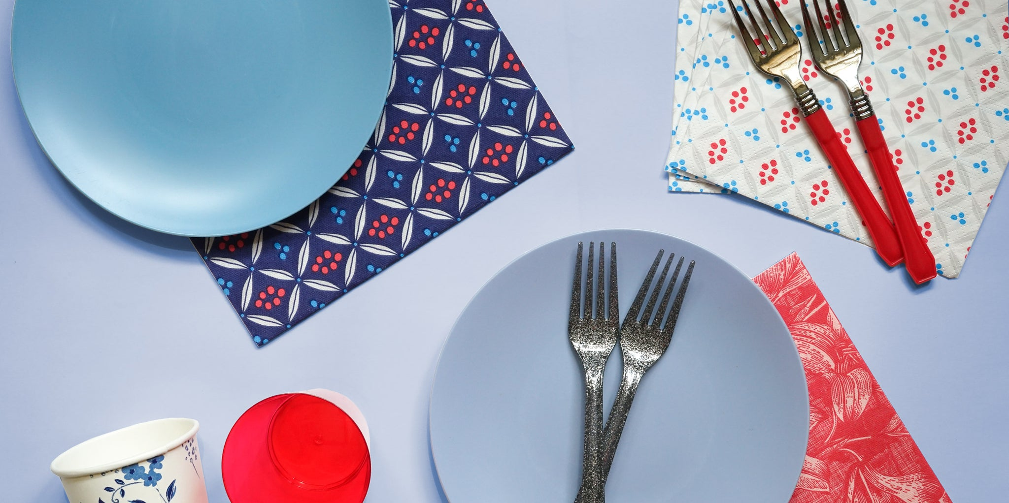 fourth-of-july-disposable-tableware