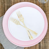 Dinner Plate in Rose Quartz