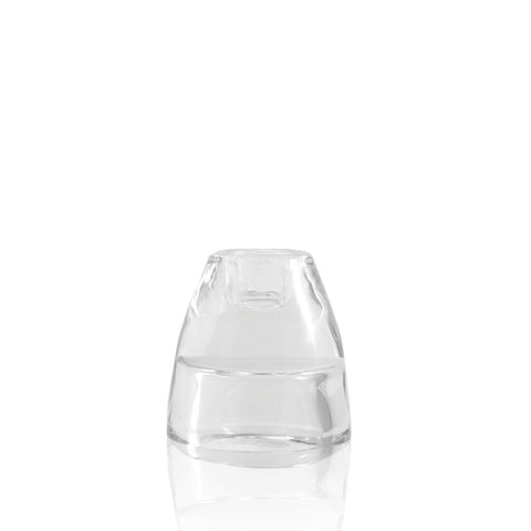 Taper or Tealight Clear Candle Holder