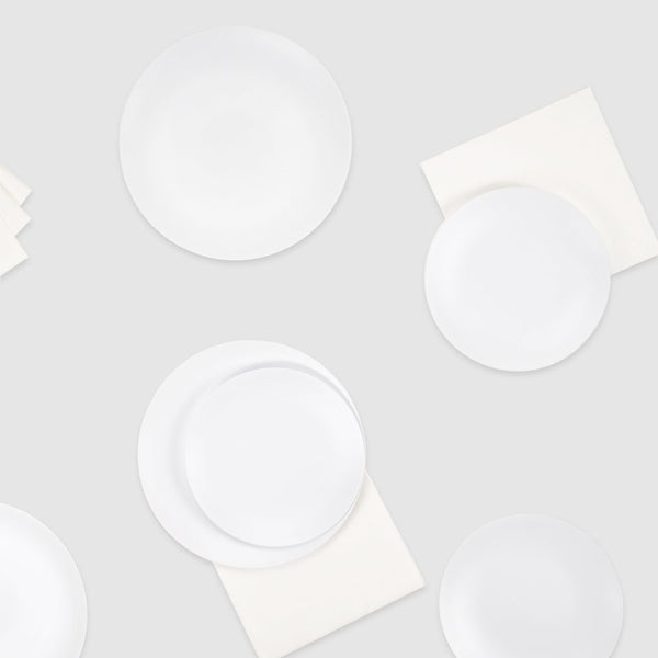 Salad Plate in Blanc