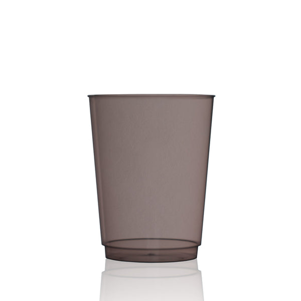 Tinted Water Glass in Jett