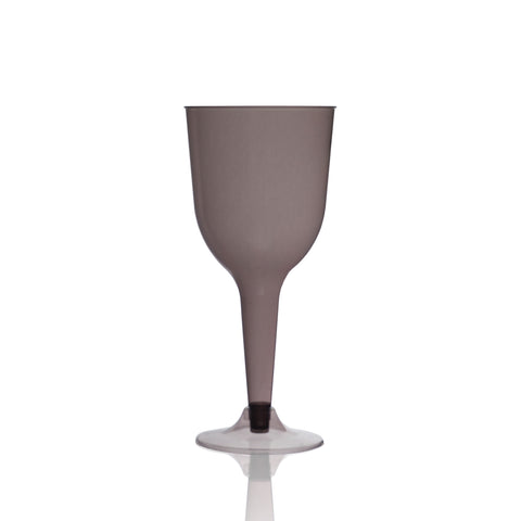 Tinted Wine Glass in Jett