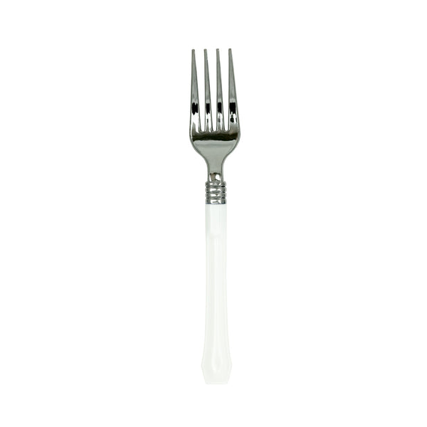 Two-Tone Flatware in Blanc