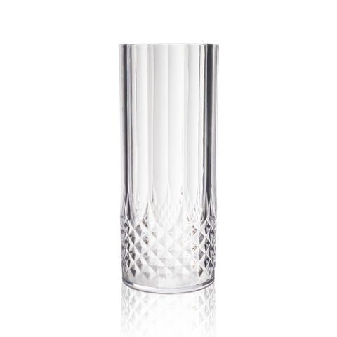 Faceted Water Glass