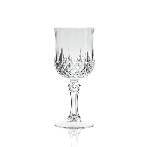 Faceted Wine Goblet