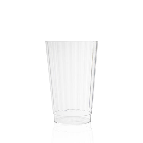 Fluted Small Water Glass