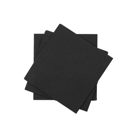 Cocktail Napkin in Jett | Pack of 20