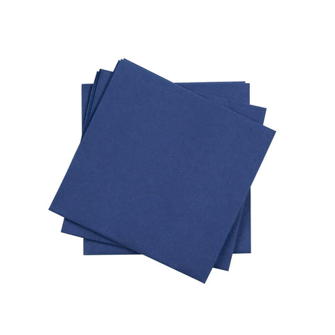 Cocktail Napkin in Denim | Pack of 20