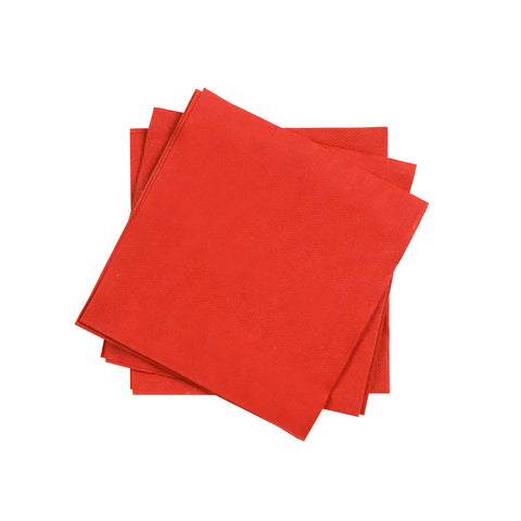 Cocktail Napkin in Jam | Pack of 20