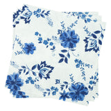Dinner Napkin in Cobalt Floral | Pack of 10
