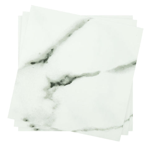Dinner Napkin in Light Marble | Pack of 10