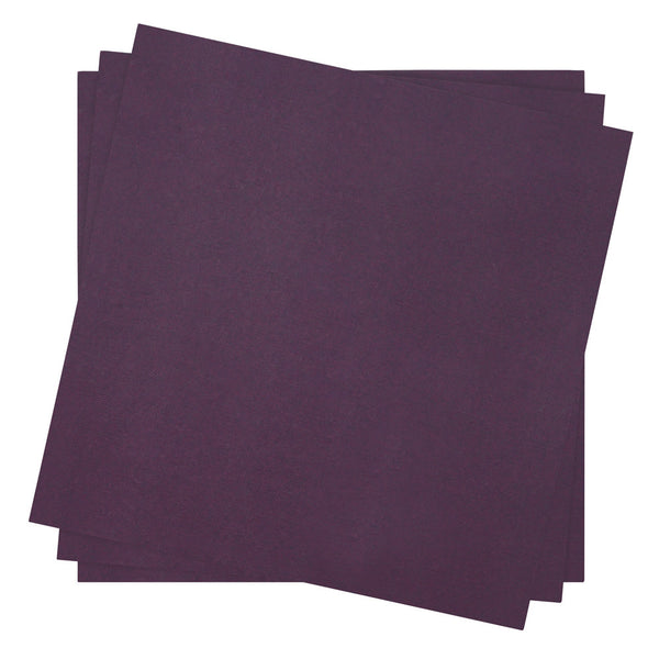 Dinner Napkin in Plum | Pack of 10