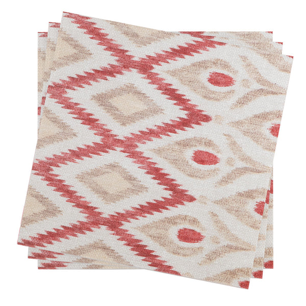 Dinner Napkin in Rouge Meso | Pack of 10