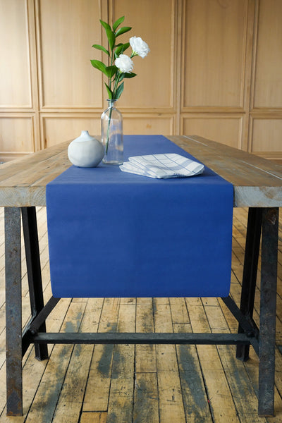 Table Runner in Denim