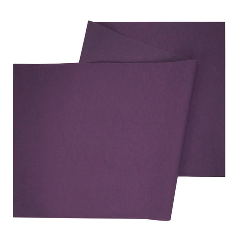 Table Runner in Plum