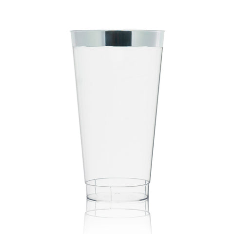Silver Dipped Water Glass