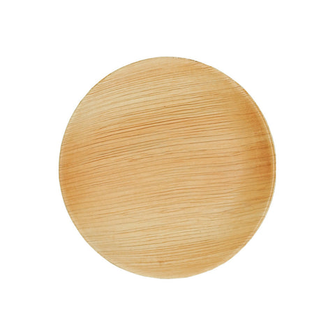 Palm Leaf Round Mini Appetizer Plate