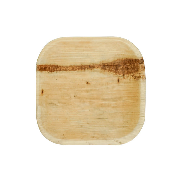 Palm Leaf Mini Square Appetizer Plate