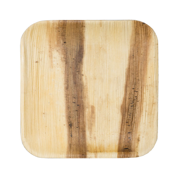 Palm Leaf Square Appetizer Plate