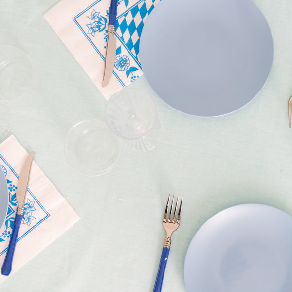 Salad Plate in French Blue