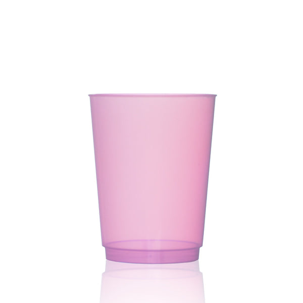Tinted Water Glass in Peony