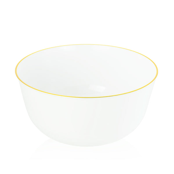 Bowl in Gold Dipped Blanc